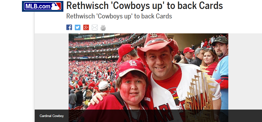 MLB Cardinal Cowboy
