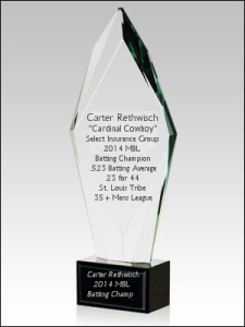Batting Title Champ 2014 MBL sponsored by Select Insurance Group - Carter Rethwisch Batting Champ Text
