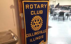 Collinsville Rotary Club Banner